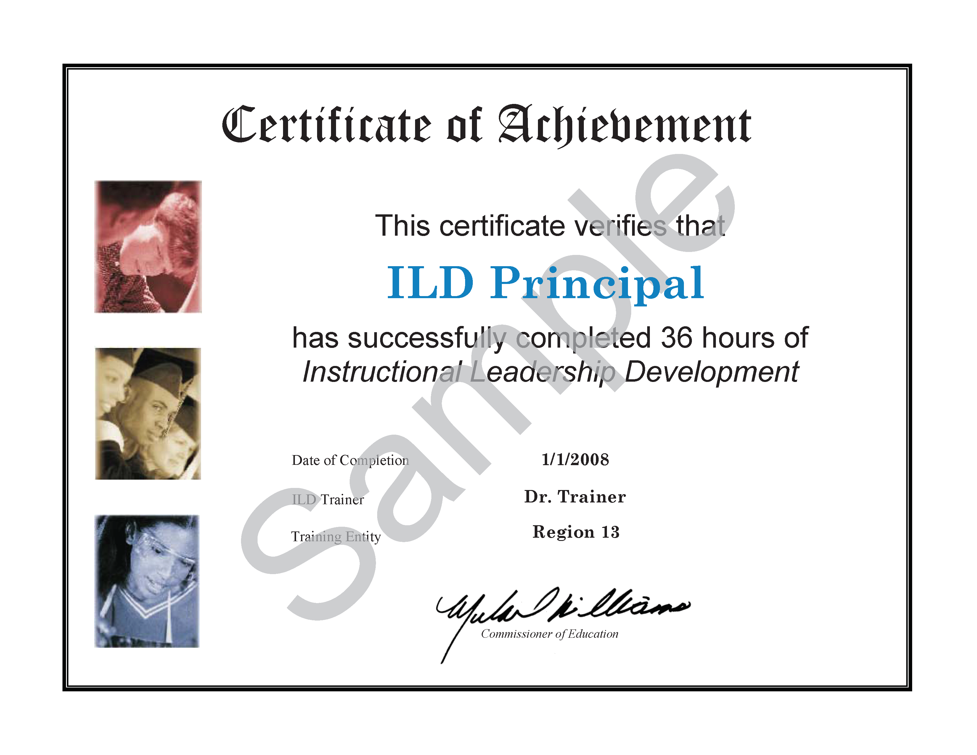 Fresh collection of training certificate business cards and ild certification lookup ael xflitez Images